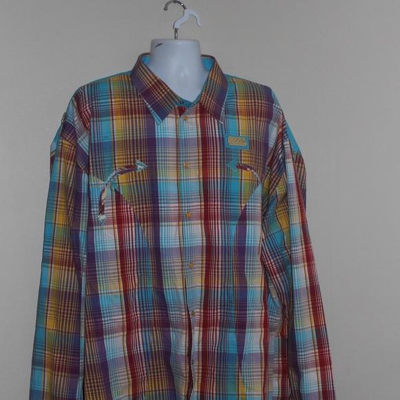 c6e43d57 COOGI Shirts | Mens Size 5xl Long Sleeve Spell Out Shirt | Poshmark